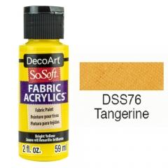 SoSoft Fabric Color-2oz(59ml)-DSS76-TANGERINE