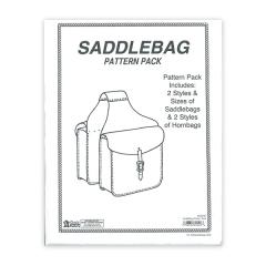특가판매6030-00 Saddle Bag Pattern Pack