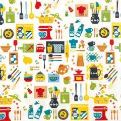 211522-Kitchen Mix 넵킨페이퍼(20매)