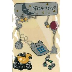 Lil Charms:LC-0304 Nite nite asst silver[특가판매]