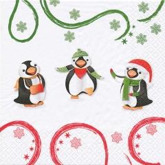611140-Pinguins Dancers 넵킨페이퍼(20매)