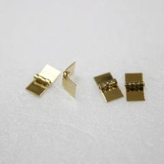 1120-Brass Sq. Hinge 4pc-미니어쳐용