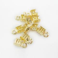 5단끝장식(금도금)-(10개)