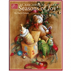 [특가판매]Seasons of Joy, If you Love to Paint