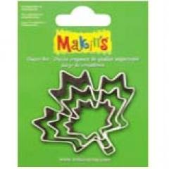 [특가판매]36029-Makin`s Cutter Set 3P / Maple Leaf