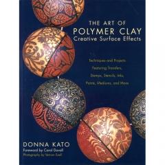 [특가판매]The Art of Polymer Clay Creative Surface Effects