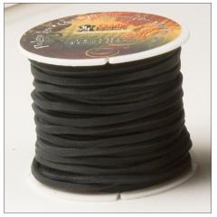 5117-01 Pro Latigo Lace Black 1/8`` x 25yd