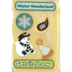 Sticker Treads:ST-0956 Snow Day Treads[특가판매]