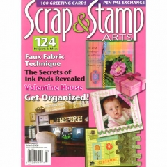 Scrap & Stamp Arts March 2008[특가판매]