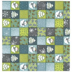 Petterned Paper:PA-0643 Winter Patchwork[특가판매]