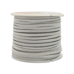 5014-06 Suede Lace 1/8`` x 25 yds. (0,3 cm x 22.9 m) White