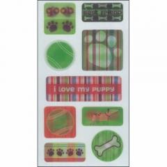 3D Sticker FX:ST-0108 DOGS FX[특가판매]