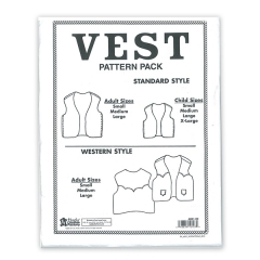 특가판매6001-00 Vest Pattern Pack