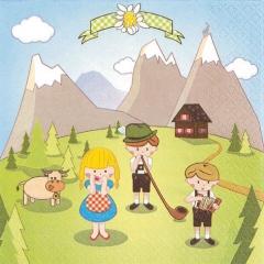 211539-Alp Comic 넵킨페이퍼(20매)