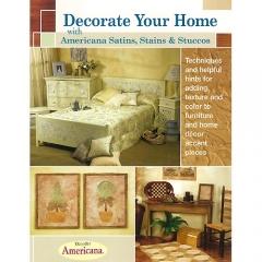 [특가판매]Decorate Your Home with Americana Satins, Stains & Stuccos