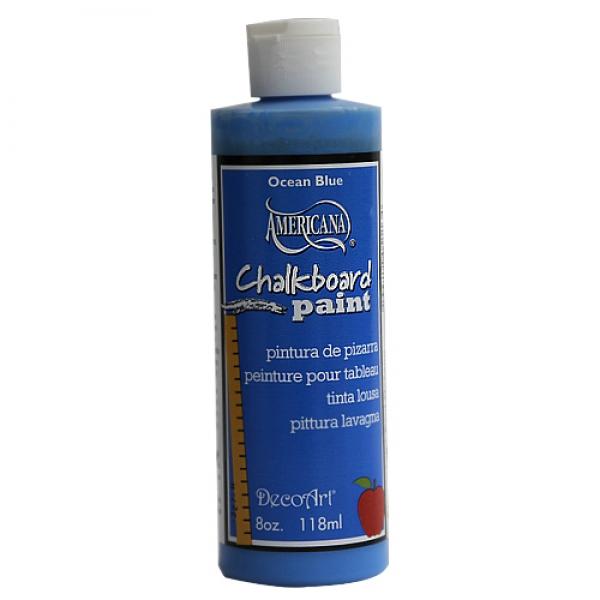 [특가판매]DS100-칠판페인트/ Chalkboard Paint - 8oz(236ml) Ocean Blue